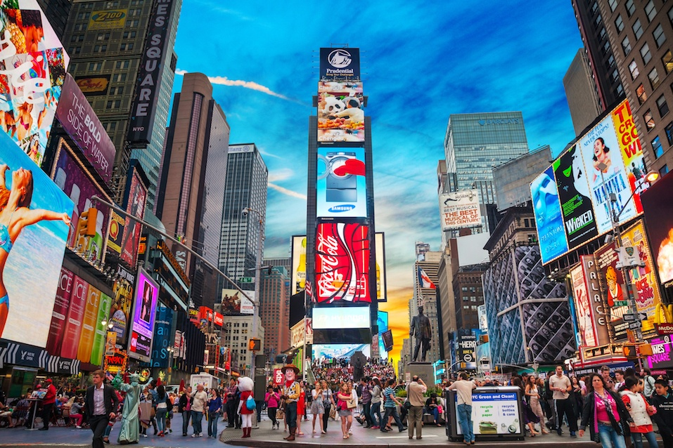Times-square-in-New-York-City