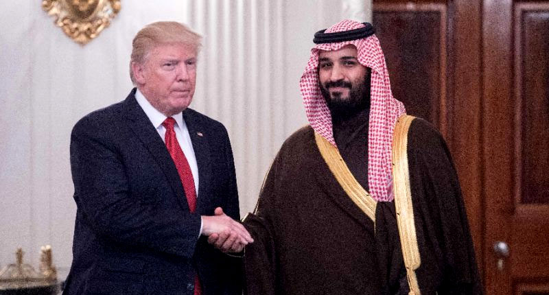 trump-with-Mohammed-bin-Salman-afp