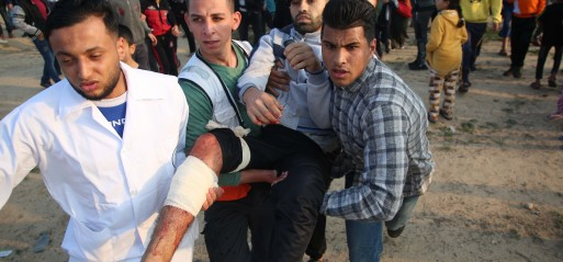 Palestine-injured-demonstrator-Gaza-border-nr-Al-Bureij-refugee-camp-30-nov-2018-pho-Hassan-Jedi-AA-513x239